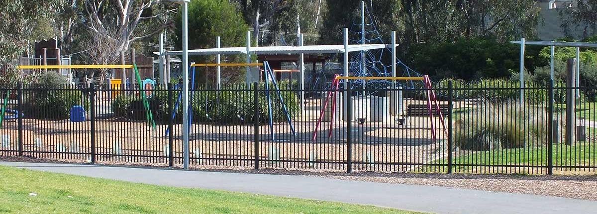 Playground fence